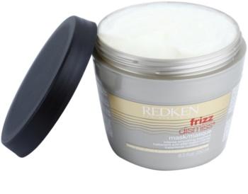 Redken Frizz Dismiss glättende Maske gegen strapaziertes Haar