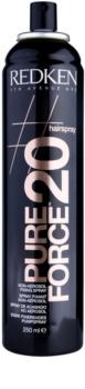 Redken Pure Force 20 lak na vlasy bez aerosolu