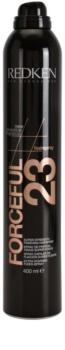 Redken Forceful 23 laca de cabelo fixação extra forte