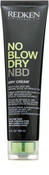 Redken No Blow Dry швидкосохнучий стайлінговий крем для слабкого волосся