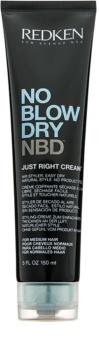 Redken No Blow Dry creme de styling com efeito de secagem rápida