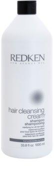 Redken Hair Cleansing Cream champô de limpeza para todos os tipos de cabelos