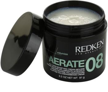 Redken Volumize Aerate 08 Espuma de textura cremosa para dar volumen