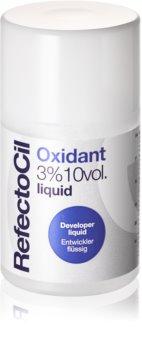 RefectoCil Eyelash and Eyebrow tekoča aktivacijska emulzija 3 % 10 vol.
