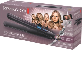Remington PRO -  Sleek and Curl S6505 žehlička na vlasy