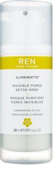 REN Clarimatte™ detoxikačná maska pre mastnú a zmiešanú pleť