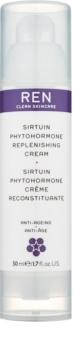REN Sirtuin Phytohormone hydratačný a posilňujúci pleťový krém pre zrelú pleť
