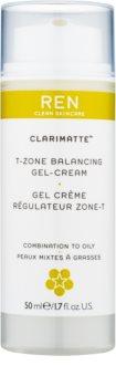 REN Clarimatte™ lehký hydratační gelový krém pro matný vzhled