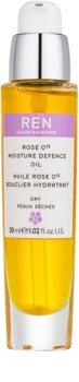 REN Moisture óleo hidratante  para pele seca