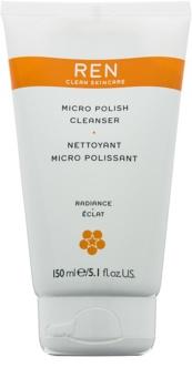 REN Radiance jemný čisticí krém s mikroperličkami
