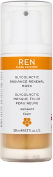 REN Radiance eksfoliacijska maska za osvetlitev kože