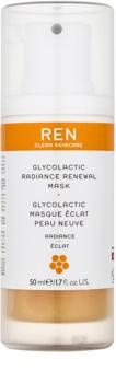 REN Radiance hámlasztó maszk az élénk bőrért