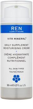 REN Vita Mineral denní hydratační krém s vyživujícím účinkem