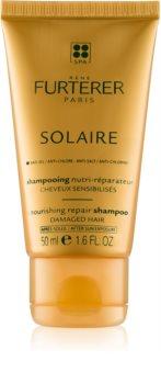 René Furterer Solaire hranjivi šampon za kosu iscrpljenu klorom, suncem i slanom vodom