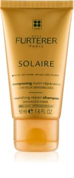Rene Furterer Solaire shampoo nutriente per capelli affaticati da cloro, sole e acqua salata