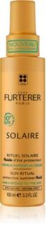Rene Furterer Solaire зволожуючий захисний флюїд для волосся пошкодженого хлором, сонцем та солоною водою