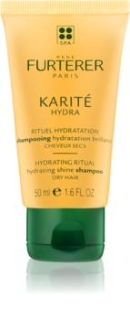 Rene Furterer Karité Hydra shampoing hydratant pour redonner de la brillance aux cheveux secs et fragiles
