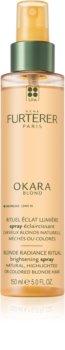 Rene Furterer Okara Blond rozjasňujúci sprej pre zvýraznenie farebného odtieňa