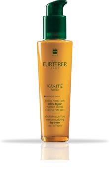 Rene Furterer Karité cuidado cremoso sem enxaguar  para cabelo seco a danificado