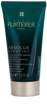 René Furterer Absolue Kératine creme restaurador sem enxaguar para cabelo extremamente danificado