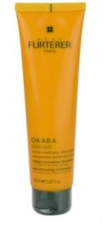 Rene Furterer Okara Active Light máscara nutritiva para cabelo loiro e com madeixas