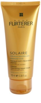 Rene Furterer Solaire masque nourrissant intense pour cheveux exposés au chlore, au soleil et à l'eau salée
