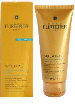 Rene Furterer Solaire Intensief Voedende Masker  voor beschadigd Haar door Chloor, Zon en Zoutwater