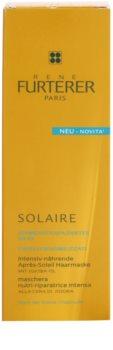 Rene Furterer Solaire maseczka intensywnie odżywiająca do włosów osłabionych działaniem chloru, słońca i słonej wody