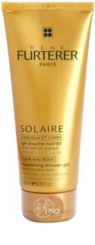 Rene Furterer Solaire hranilni gel za prhanje za lase in telo