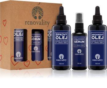 Renovality Original Series Cosmetic Set IV. (for Dry Skin) for Women