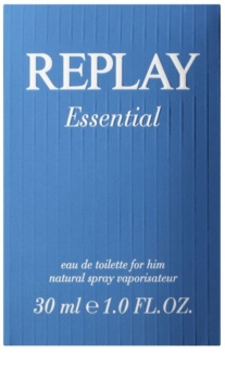 Replay Essential Eau de Toillete για άνδρες 30 μλ
