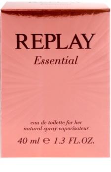 Replay Essential eau de toilette pour femme 40 ml
