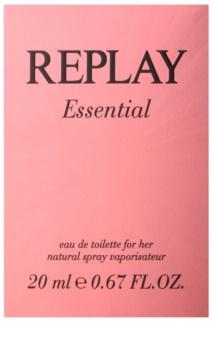 Replay Essential toaletní voda pro ženy 20 ml
