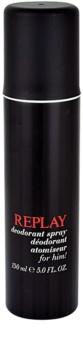 Replay for Him deodorant Spray para homens 150 ml