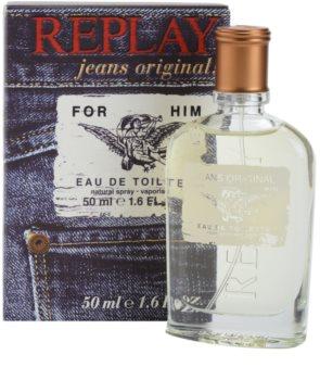 Replay Jeans Original! For Him eau de toilette férfiaknak 50 ml