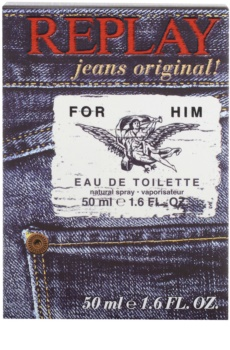 Replay Jeans Original! For Him Eau de Toilette for Men 50 ml
