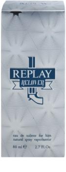 Replay Relover woda toaletowa dla mężczyzn 80 ml