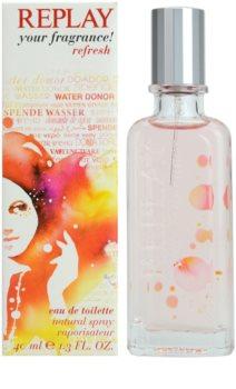 Replay Your Fragrance! Refresh For Her eau de toilette nőknek 40 ml