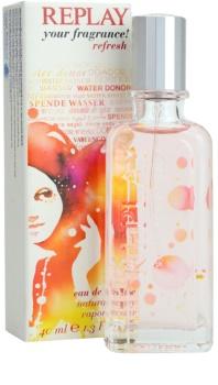 Replay Your Fragrance! Refresh For Her Eau de Toilette voor Vrouwen  40 ml