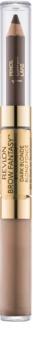 Revlon Cosmetics Brow Fantasy svinčnik in gel za obrvi 2 v 1