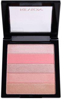 Revlon Cosmetics Sunkissed rozjasňující tvářenka