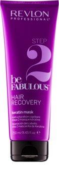 Revlon Professional Be Fabulous Hair Recovery hlboko regeneračná maska s keratínom