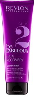 Revlon Professional Be Fabulous Hair Recovery hloubkově regenerační maska s keratinem