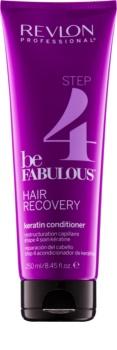 Revlon Professional Be Fabulous Hair Recovery balsam pentru indreptare cu keratina