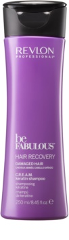 Revlon Professional Be Fabulous Hair Recovery Cremiges Shampoo für sehr trockenes Haar