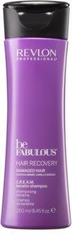 Revlon Professional Be Fabulous Hair Recovery krémes sampon nagyon száraz hajra