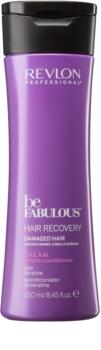 Revlon Professional Be Fabulous Hair Recovery kremasti balzam za zelo suhe lase s keratinom