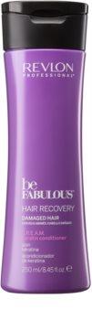 Revlon Professional Be Fabulous Hair Recovery krémový kondicionér pre veľmi suché vlasy s keratínom