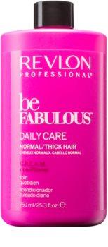 Revlon Professional Be Fabulous Daily Care balzam pre normálne až husté vlasy