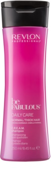 Revlon Professional Be Fabulous Daily Care vlažilni in revitalizacijski šampon